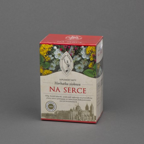 Herbatka ziołowa NA SERCE