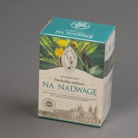 Herbatka ziołowa NA NADWAGĘ