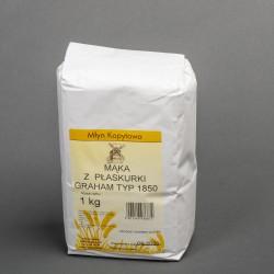 Mąka z płaskurki graham 1850
