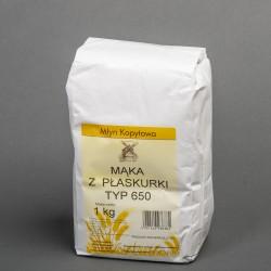 Mąka z płaskurki 650