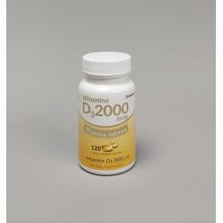 Witamina D3 2000 forte 120 kaps.