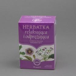 Herbatka ziołowa relaksująca i odprężająca