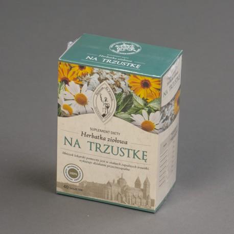 Herbatka ziołowa NA TRZUSTKĘ