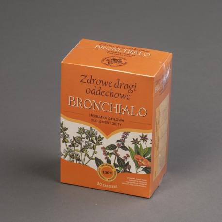 Herbatka ziołowa Zdrowe drogi oddechowe BRONCHALIO
