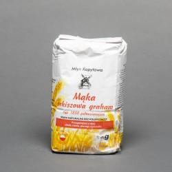 Mąka orkiszowa graham typ 1850 pełnoziarnista 1kg