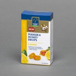 Cukierki z miodem manuka i witaminą C o smaku cytrynowym