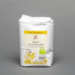 Mąka z płasurki typ 650 ekologiczna 1kg