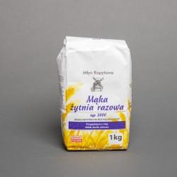 Mąka żytnia razowa typ 2000 1kg